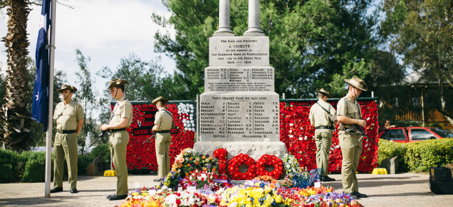 Schools ANZAC Day Service back on (April 22nd)